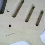 Vorbereitung des Schachtes für den Schalter