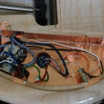 Tonabnehmer-Schaltung, Kupferfolie als Abschirmung